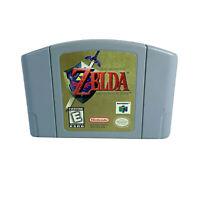 Legend of Zelda Ocarina of Time N64 | Nintendo 64 | Authentic tested works ☆ ☆ ☆