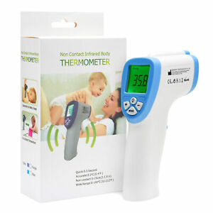 Thermometer Digital Non-Contact Infrared Forehead Laser Temperature Gun Handheld