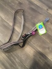 New listing Kong Padded Handle Hands-Free Leash Grey 6 Ft L x 1.0 In W 1.8 m x 2.5 cm