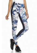 NWT Lucy LU1125354JU Mat and Move Leggings yoga Pants $89 BLACK CLOUD  S
