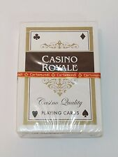 Sealed Deck Casino Royale Playing Cards, Casino Quality Linen Finish, Cartamundi