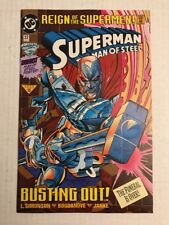 SUPERMAN: THE MAN OF STEEL #22 VF/NM