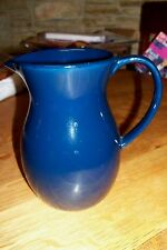 "7"" DARK GREEN/BLUE WATER PITCHER MADE IN CHINA"