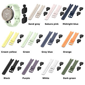 For Garmin Lily Smart Watch Silicone Replacement Band Strap Wrist Band Tools Kit
