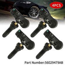 4PCS OEM TPMS Tire Pressure Sensor 56029398AB 433Mhz For CHRYSLER JEEP DODGE RAM