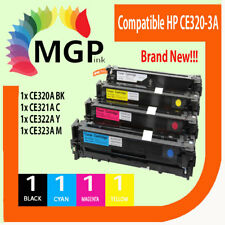 4x CE320A -CE323A toner cartridge for HP Laser CM1415 CM1415fn CP1525N CP1525nw