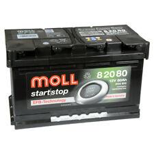 MOLL start stop EFB 82080 12V 80Ah Autobatterie Startbatterie Batterie*NEU*