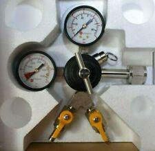 Kegco Kc Yh-762-2 Commercial Grade Double Gauge Two Product Co2 Regulator 762-2