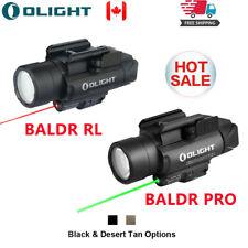 OLIGHT LED Flashlight Baldr RL/Baldr Pro Tactical Weaponlight Red/Green Laser