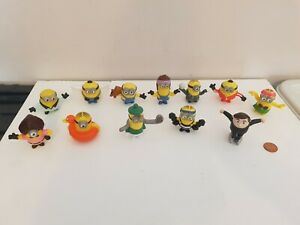 Despicable Me Minion Figure Set Lot x 12, See Others & Combine Postage,Minions