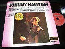JOHNNY HALLYDAY<>LE DISQUE D'OR<>Lp Vinyl~France Pressing<>IMPACT 6886 104