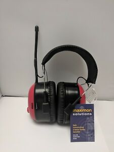 Noise Cancelling Headset with AM/FM Radio