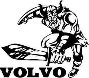 VOLVO VIKING DECAL STICKER
