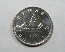 Canada King George V Large Silver Dollar 1935 NICE 1st Year VERY SCARCE