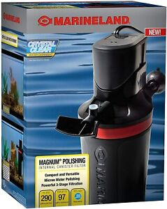MarineLand Magnum Polishing Internal Canister Filter, For aquariums Up To 97 Gal