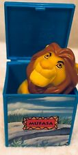 """Simba Finger Puppet in Box 2"""" Burger King  Figure Toy Lion King (1994)  SHIPS F"""