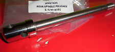 BSA A10B31 GOLD STAR...Q.D. REAR HUB WHEEL SPINDLE..POLISHED STAINLESS