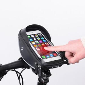 WATERPROOF BIKE PHONE HOLDER PLUS STORAGE SPACE, FRONT CYCLING BAG.