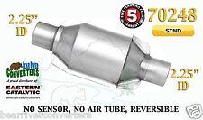 "Eastern Universal Catalytic Converter Standard 2.25"" 2 1/4"" Pipe 8"" Body 70248"