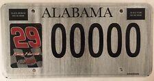 NASCAR KEVIN HARVICK license plate Driver 29 Stock Racing RCR KHI Motorsports AL