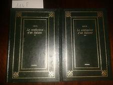 LE CONFESSIONI D'UN ITALIANO vol. 1 e 2  -  NIEVO Ippolito  -  EDIPEM  -  1974