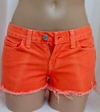 Jbrand Shorts Bright Orange Size 24