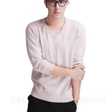 Cashmere Crew Neck Thin Knit Jumpers & Cardigans for Men