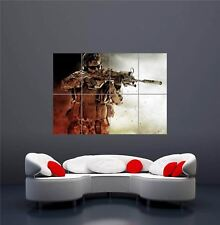 MEDAL OF HONOR WARFIGHTER XBOX ONE PS4 PS3 GAME PC GIANT ART PRINT POSTER OZ1086