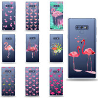 Flamingo Pink Red Tropical Animal covers cases skin Samsung S8 S9 note S10 plus