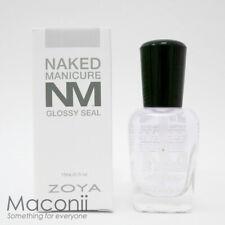 Zoya Naked Manicure Glossy Seal Clear Top Coat High Shine Nail Polish