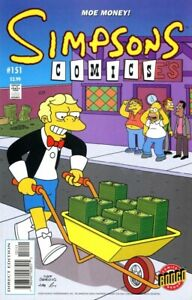 SIMPSONS COMICS (1993) #151 - Back Issue
