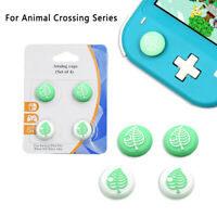 For Nintendo Switch Lite 4PCS Animal Crossing Silicone Joystick Thumb Grip Cap