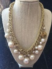 Amrita Singh Pearl And Gold Rope Necklace