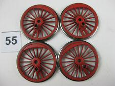 Fleischmann-Dampflokräder, Ladegut oder Deko, Spur H0, Ø 22 mm, 4 Stück (55)