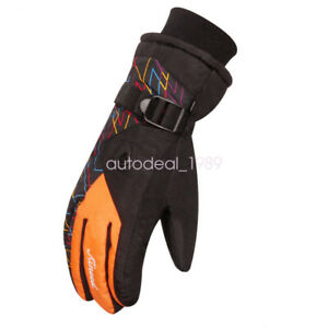 Outdoor Sport Waterproof Ski Snowboard Cycling Climbing Gloves for Adult Lovers