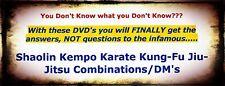 Shaolin Kempo Karate Kung-Fu Jiu-Jitsu Combination/DM 1- 21 -GM Jim Brassard