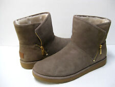 UGG KIP WOMEN ANKEL BOOTS SUEDE CLAY US 12 /UK 10.5 /EU 43