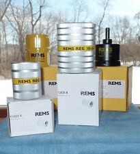 Three Rems Deburring Tools Assorted Lot New Old Stock *Free US Shipping*