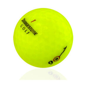 12 Bridgestone e6 Yellow Near Mint Used Golf Balls AAAA