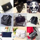 Women Handbag Shoulder Bags Tote Purse PU Leather Lady Messenger Hobo Bag sil