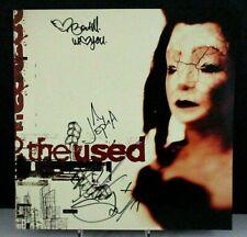 The Used (Debut Album) Autographed Album Flat, 12x12, Reprise PROMO (2002)