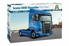 Italeri 1:24 3947 Scania R400 Streamline Flat Roof Model Truck Kit