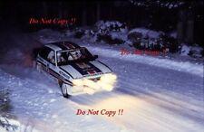 Ari Vatanen Opel Ascona 400 Swedish Rally 1983 Photograph 2