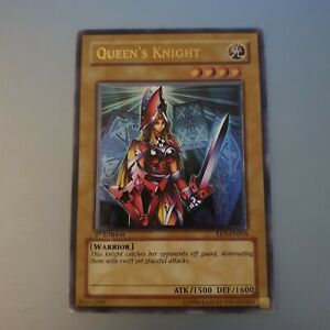 Yu-Gi-Oh Queen's Knight Ultimate Rare EEN-EN004 1st Edition