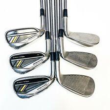 TaylorMade RocketBladez Left-Hand irons (5-P) Stiff - VG Cond, Free Post 5426
