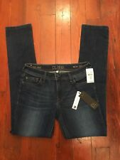 DL 1961 Womens Jeans Nicky Mid-Rise Cigarette Waverly 2241 Size 28 $168 NWT