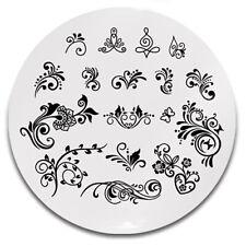 Stamping Schablone Stempel Platte Tribal Ornamente Y001