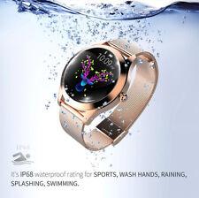 Smartwatch  KW10 waterproof IP68 bluetooth notifiche per Android e iOS valentine