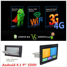 9 pulgadas 1Din Android 8.1 Quad Core Auto estéreo reproductor de MP5 Gps Radio Fm Wifi 1G+16G