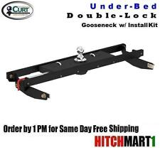 CURT DOUBLE LOCK GOOSENECK TRAILER HITCH PKG FOR 2011-2017 CHEVY/GMC 2500HD/3500